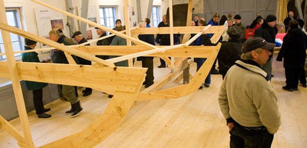 Stævnrejsningsgilde i redningshuset. Foto: Mattias Bodilsen