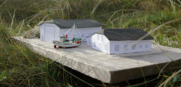 Arkitekt Knud Johansen, Thisted, fra firmaet Vilsbøll & Poulsen A/S i Lemvig, har tegnet de to nye bygninger